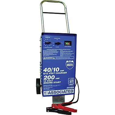 Associated 40/10 A Manual Battery Charger