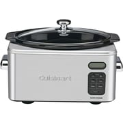 Cuisinart® 6.5 qt. Stainless Steel Programmable Slow Cooker