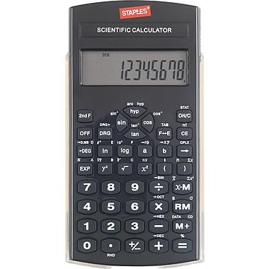Staples Black Scientific Calculator