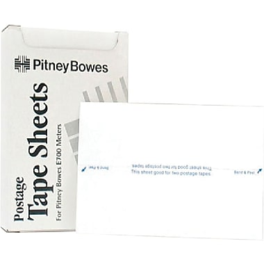Clover Postage Meter Tape Strips for the Pitney Bowes 612-0, 620-9, 612-7, 150 Pieces