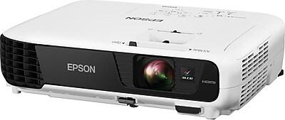 epson ex5240 xga 3lcd projector white staples rh staples com