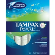 Tampax Pearl Super Unscented 18/CT