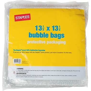 Staples Bubble Bags, 13-1/2