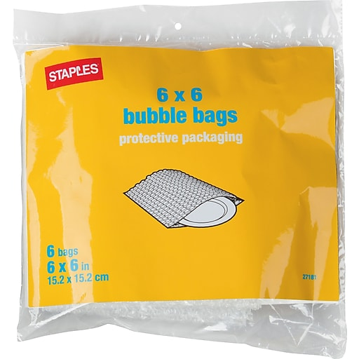 Bubble Bags 6 X Pack 27181 Us