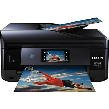 Epson® Expression Photo XP-860 Small-in-One® All-in-One Inkjet Printer (C11CD95201)
