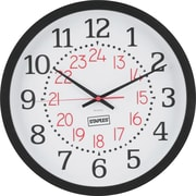 "Staples 14"" Wall Clock"