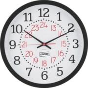 Staples - Horloge murale de 14 po