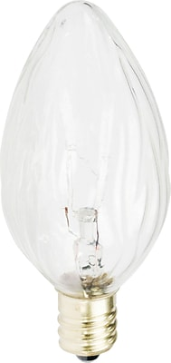 Philips Incandescent Light Bulb, F10, 25 Watts, 12PK