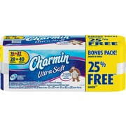 Charmin Ultra Soft Toilet Paper, 20 Double Rolls