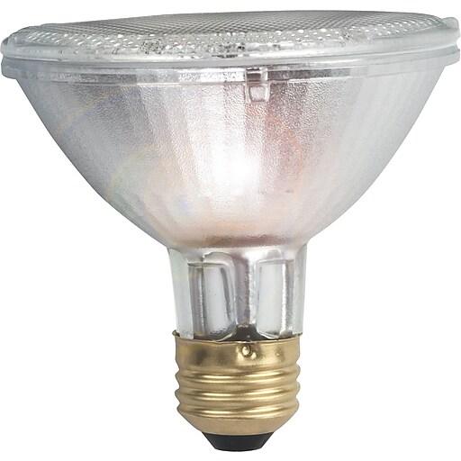 Philips Halogen PAR30S Lamp, 25° Flood, 50 Watts, 15PK