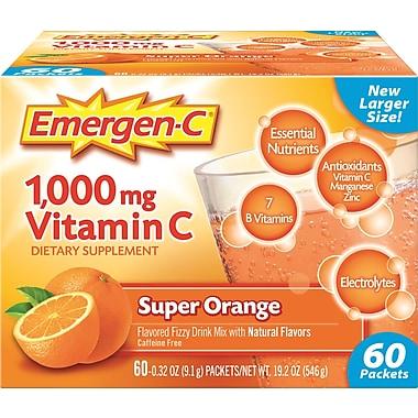 Emergen-C Super Orange 9.3 Oz. 60/Pack