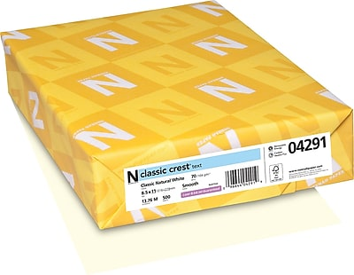 CLASSIC CREST® Paper, 8 1/2