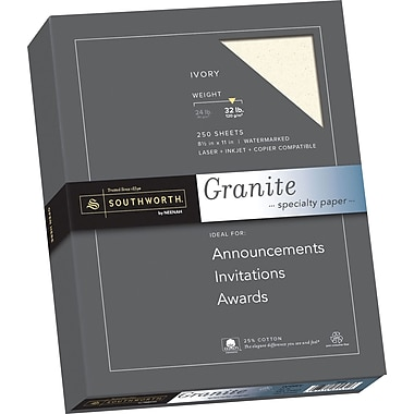 Southworth Granite Specialty Paper, 8.5