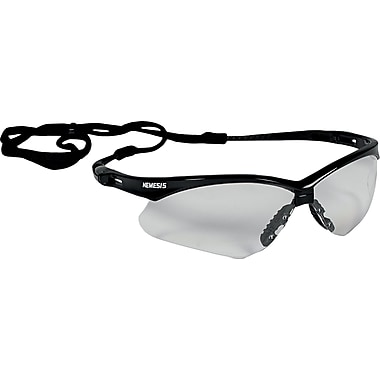 Jackson Nemesis ANSI Z87.1 Safety Glasses, Clear (25676)