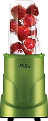 Big Boss 4-Piece Personal Countertop Blender Mixing System, Green