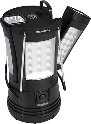 Bell+Howell Super Torch 70-LED Lantern with 2 Detachable Flashlights, Black