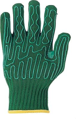 Wells Lamont Green Fiberglass & Stainless Steel Cut Resistant Gloves, Right Hand