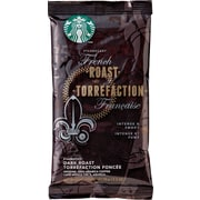 Starbucks® French Roast Ground Coffee, Regular, 2.5 oz., 18 Packets