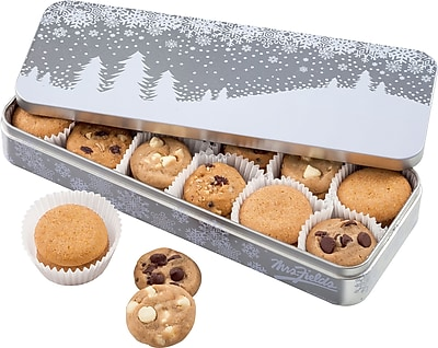 MRS. FIELDS HOLIDAY COOKIE TIN