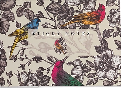 Paperchase Paradiso Sticky Notes, 7.2