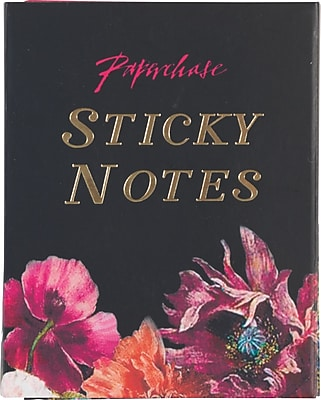 Paperchase Dark Romance Sticky Notes, 3.5