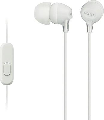 Sony MDREX15AP/W Fashion Color EX Earbud Headset, White
