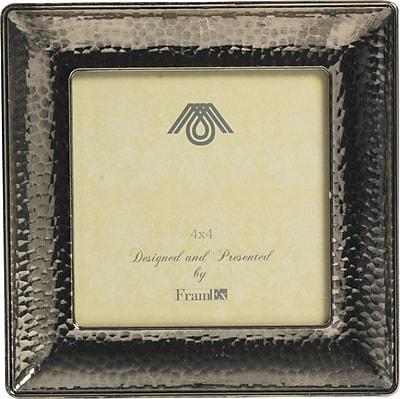Paperchase Dark Romance Metal Silver Frame, 5.6