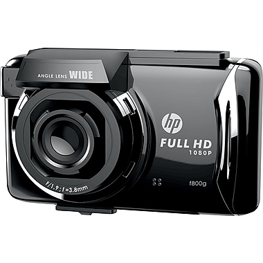 HP F800G Car Dash Cam Video recorder Full HD 1080p with GPS built-in 3-Axis G Force and Motion Sensor