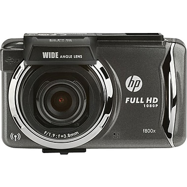 HP F800X Car Dash Cam Video Recorder full HD 1080p WiFi & GPS capable with Touch Screen