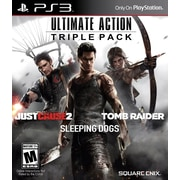 Square Enix 91620 PS3 Ultimate Action Triple Pack