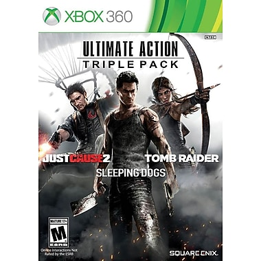 Square Enix 91619 XBox 360 Ultimate Action Triple Pack