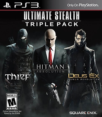 Square Enix 91628 PS3 Ultimate Stealth Triple Pack 1748567