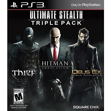 Square Enix 91628 PS3 Ultimate Stealth Triple Pack