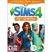Electronic Arts 73314 PC The Sims 4: Get To Work Expansion Pack