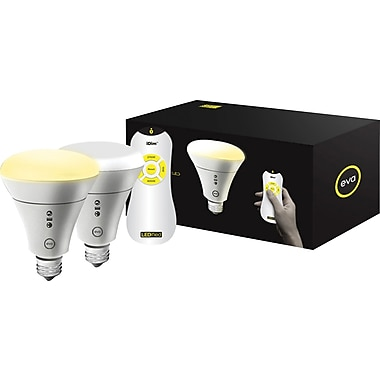 EVA BR30 Bulb (Double Pack) with iDim Universal Remote Control (Single)-Powered by Fundable
