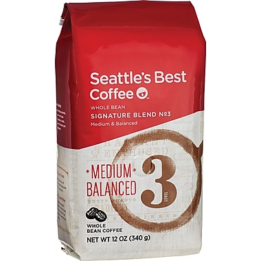 Seattle's Best Coffee® Level 3 Whole Bean Coffee, Regular, 12 oz. Bag