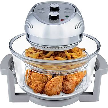 Big Boss Oil-Less 16QT Fryer, Silver (8605)