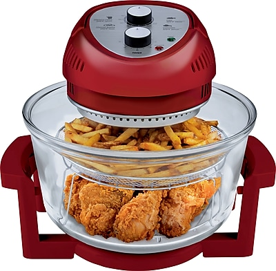 Big Boss Oil-Less 16qt Fryer, Red (9063)
