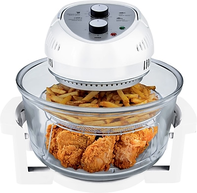 Big Boss Oil-Less 16QT Fryer, White