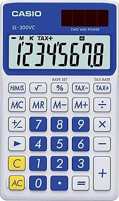 Casio SL300VC 8-Digit Standard Function Calculator 321964