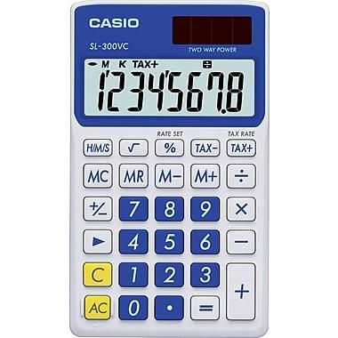 Casio® SL300VC 8-Digit Standard Function Calculator