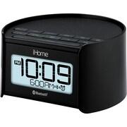 iHome Bluetooth Bedside Dual Alarm Clock Radio with Speakerphone