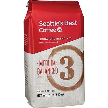 Seattle's Best Coffee® Level 3 Ground Coffee, Regular, 12 oz. Bag