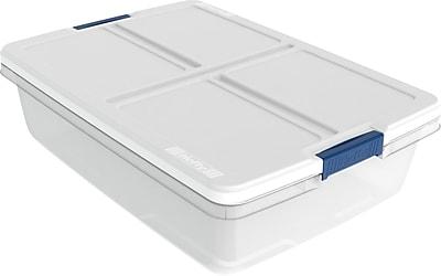 Hefty 34 Quart Storage Container, 6/case
