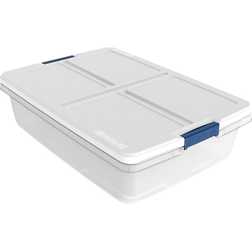 Hefty 34 Quart Storage Container