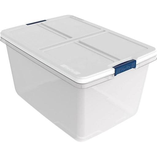 Hefty 66 Quart Storage Container, 6/case | Staples