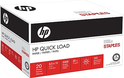 HP® Quick Load Paper, 8 1/2