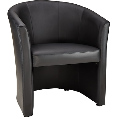 Staples Belanger Club Guest Chair, Black