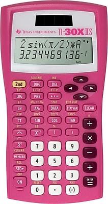 Texas Instruments® TI-30X IIS 10-Digit Scientific Calculator, Pink