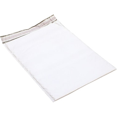 Staples #6 Bubble Mailer, White Poly, 12-1/2